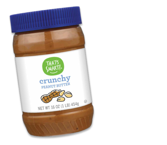 That's Smart! crunchy peanut butter