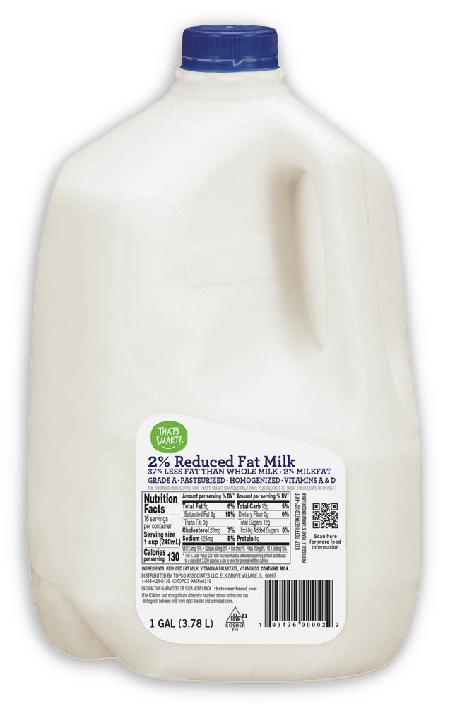 That's Smart! 2% Reduced Fat Milk