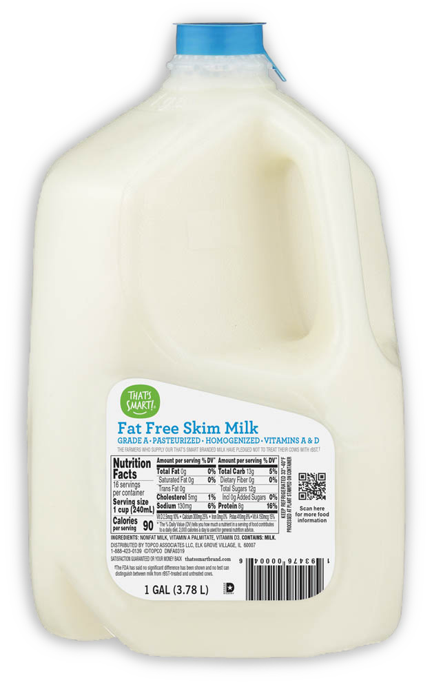 That's Smart! Fat Free Skim Milk