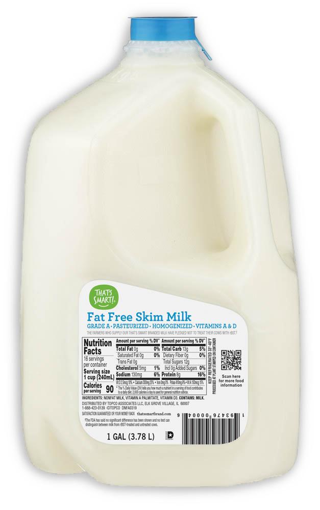 That's Smart! Fat Free Skim Milk