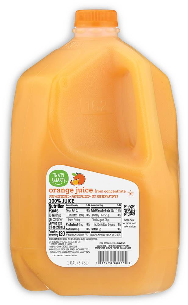 That's Smart! Orange Juice