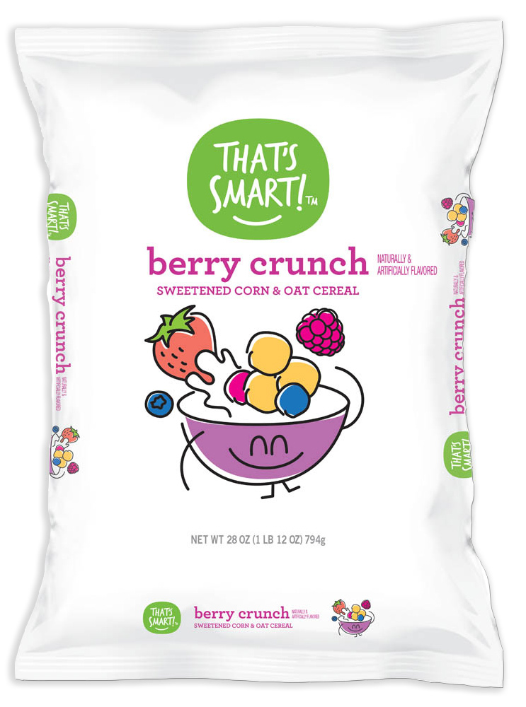 That's Smart! Berry Crunch Sweetened Corn & Oat Cereal