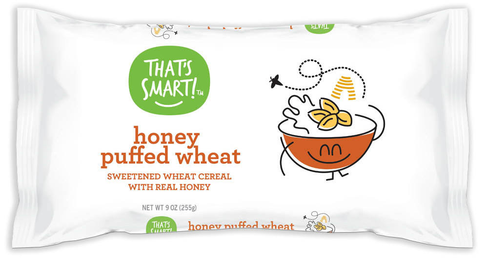 That's Smart! Honey Puffed Wheat Cereal
