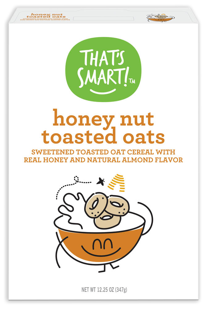 That's Smart! Honey Nut Toasted Oats Cereal