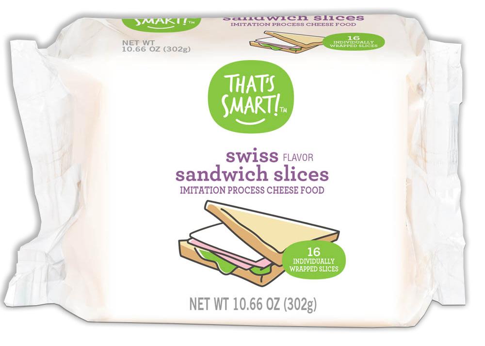 That's Smart! Swiss Flavor Sandwich Slices