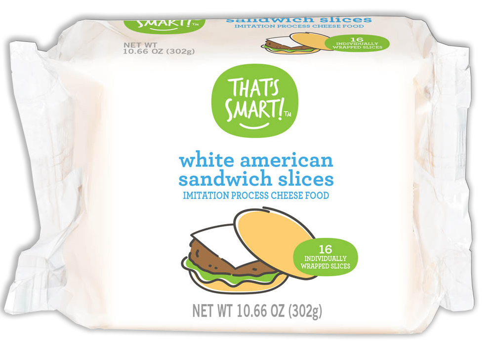 That's Smart! White American Sandwich Slices