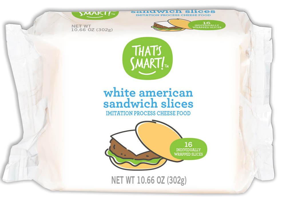 That's Smart! White American Sandwich Slices
