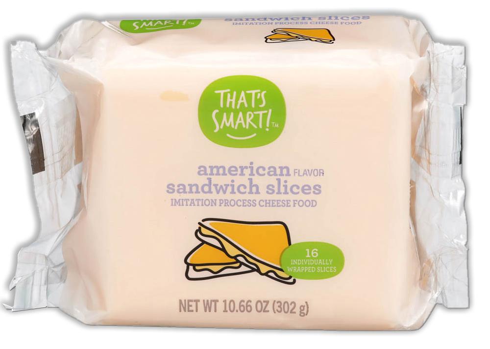 That's Smart! American Flavor Sandwich Slices