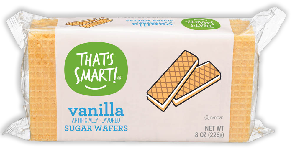 That's Smart! vanilla sugar wafers