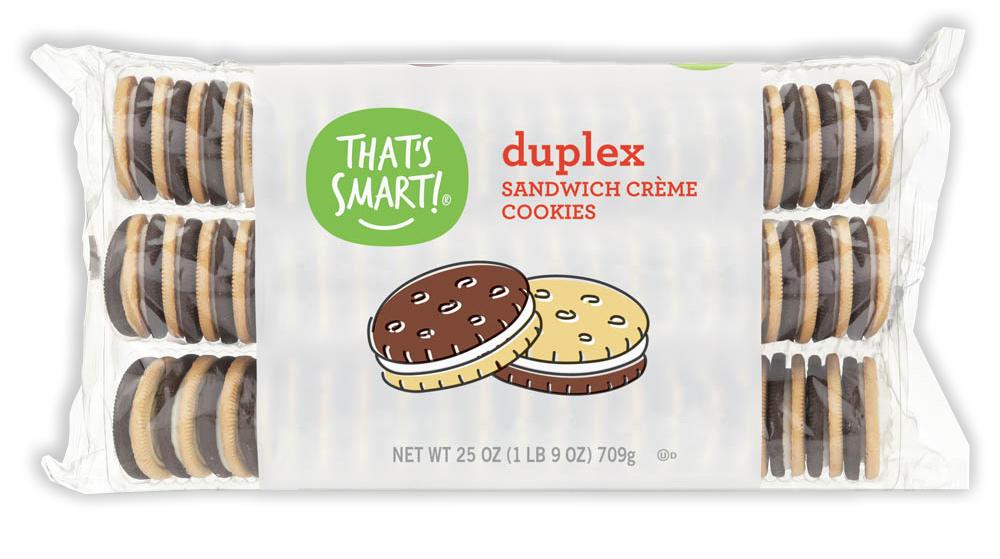 That's Smart! duplex sandwich creme cookies