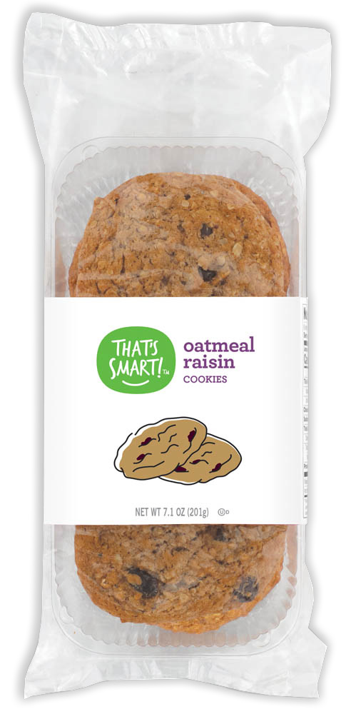 That's Smart! oatmeal raisin cookies