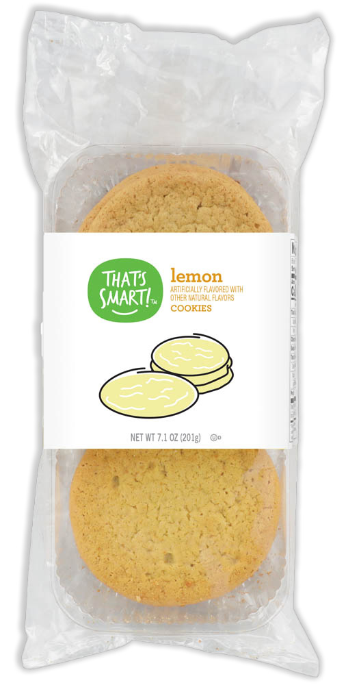 That's Smart! lemon cookies
