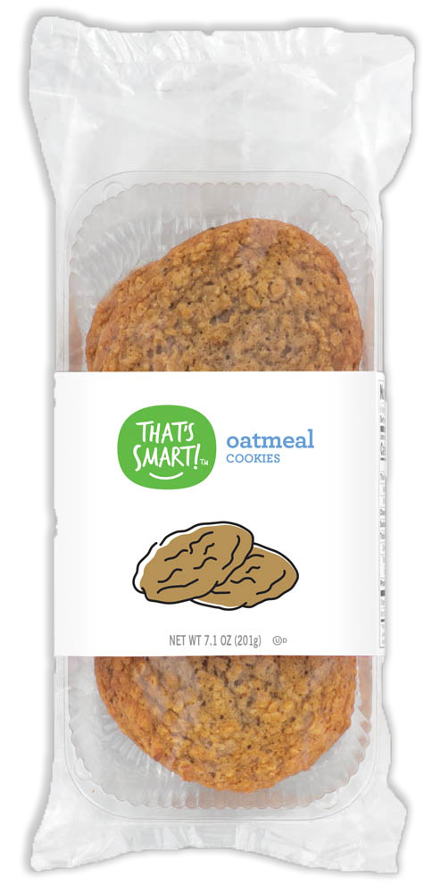 That's Smart! oatmeal cookies