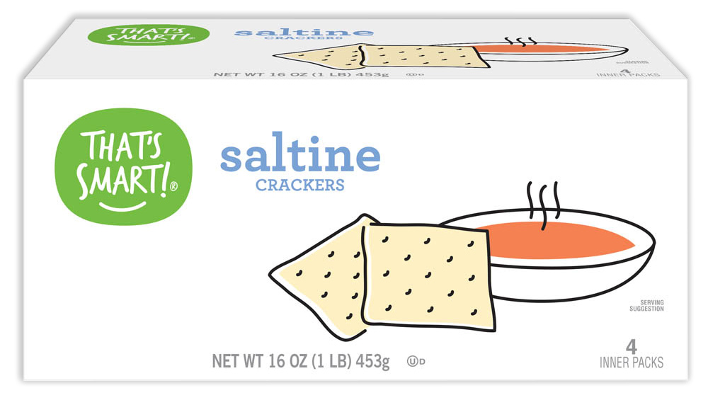 That's Smart! saltine crackers
