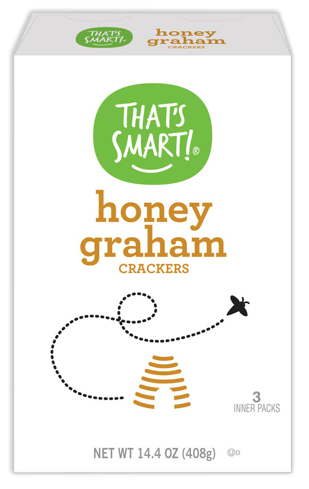That's Smart! honey graham crackers