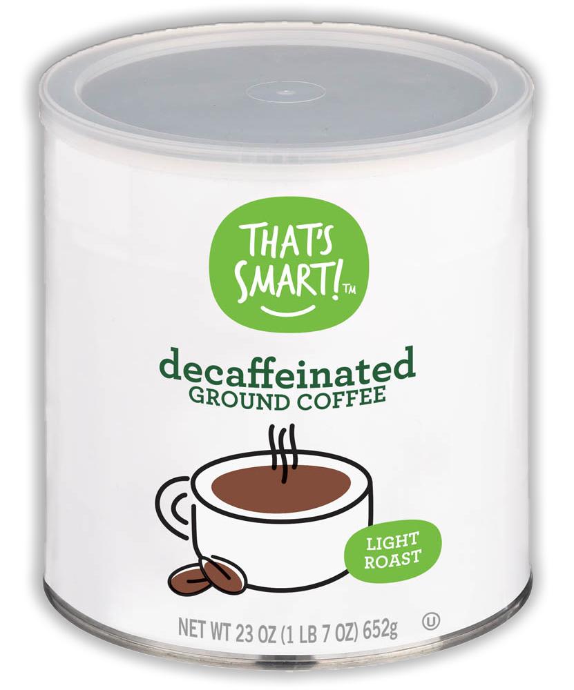 That's Smart! Light Roast Decaffeinated Ground Coffee