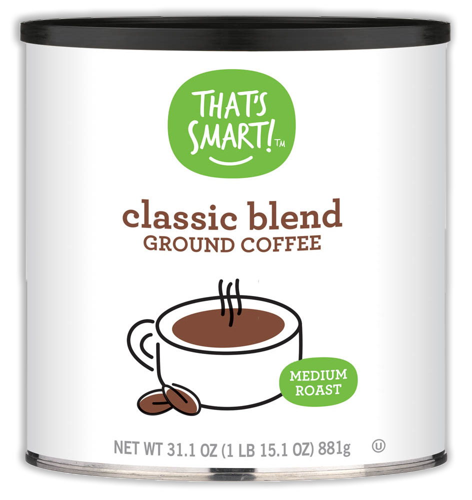 That's Smart! Light Roast Classic Blend Ground Coffee