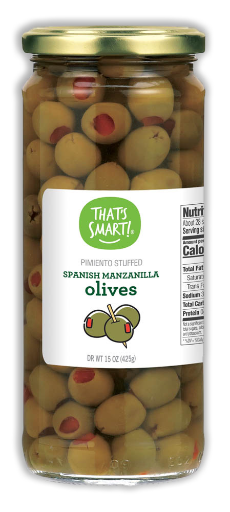 That's Smart! spanish manzanilla olives