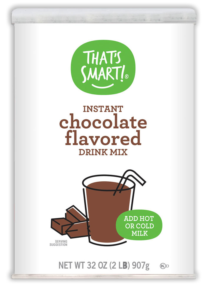 That's Smart! Chocolate Flavored Instant Drink Mix
