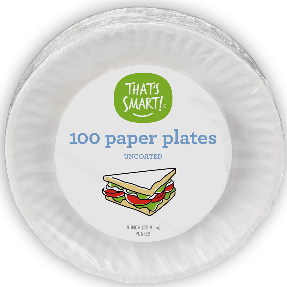 That's Smart! 100 paper plates