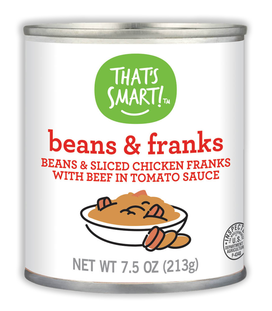 That's Smart! Beans & Franks in Tomato Sauce