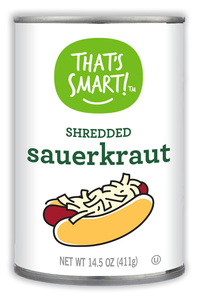 That's Smart! Shredded Sauerkraut