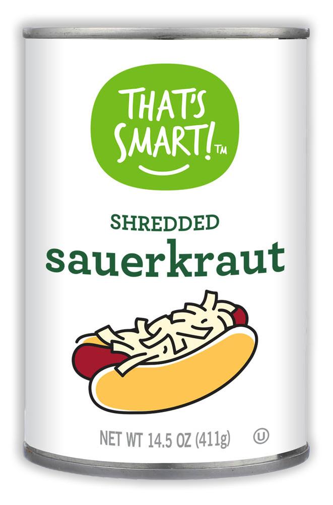 That's Smart! Shredded Sauerkraut