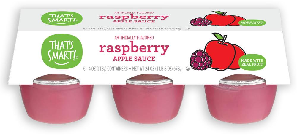 That's Smart! raspberry apple sauce