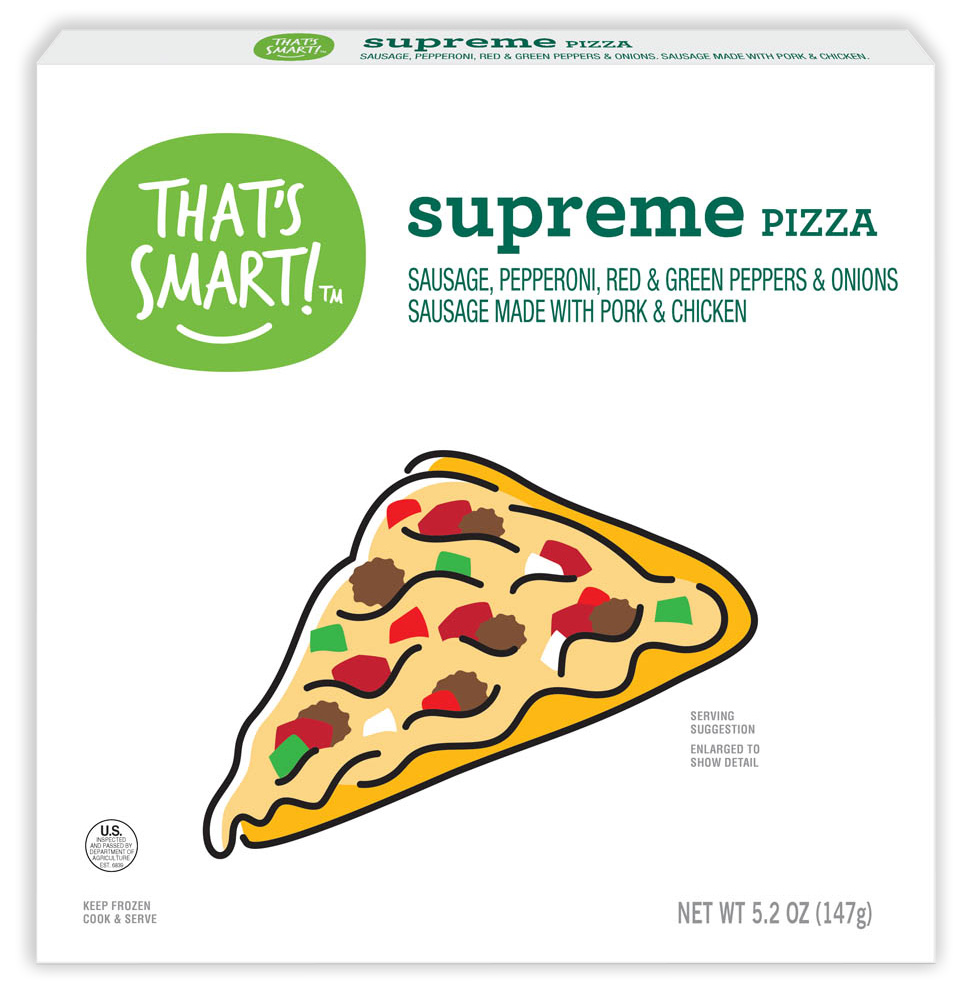 That's Smart! supreme pizza