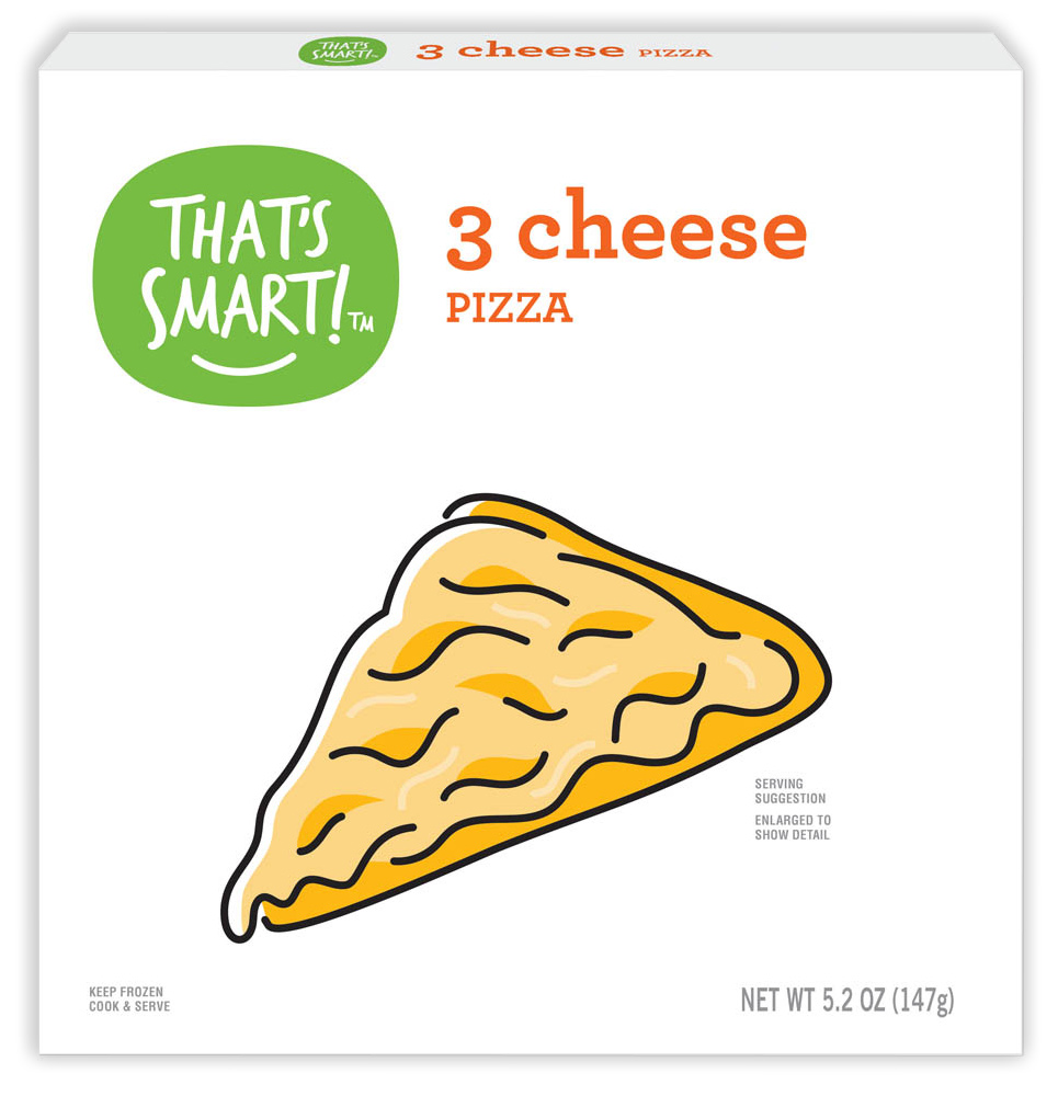 That's Smart! 3 cheese pizza