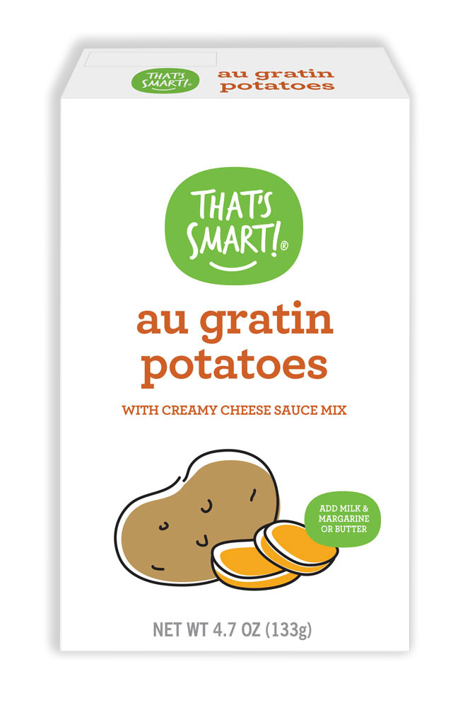That's Smart! Au Gratin Potatoes with Creamy Cheese Sauce