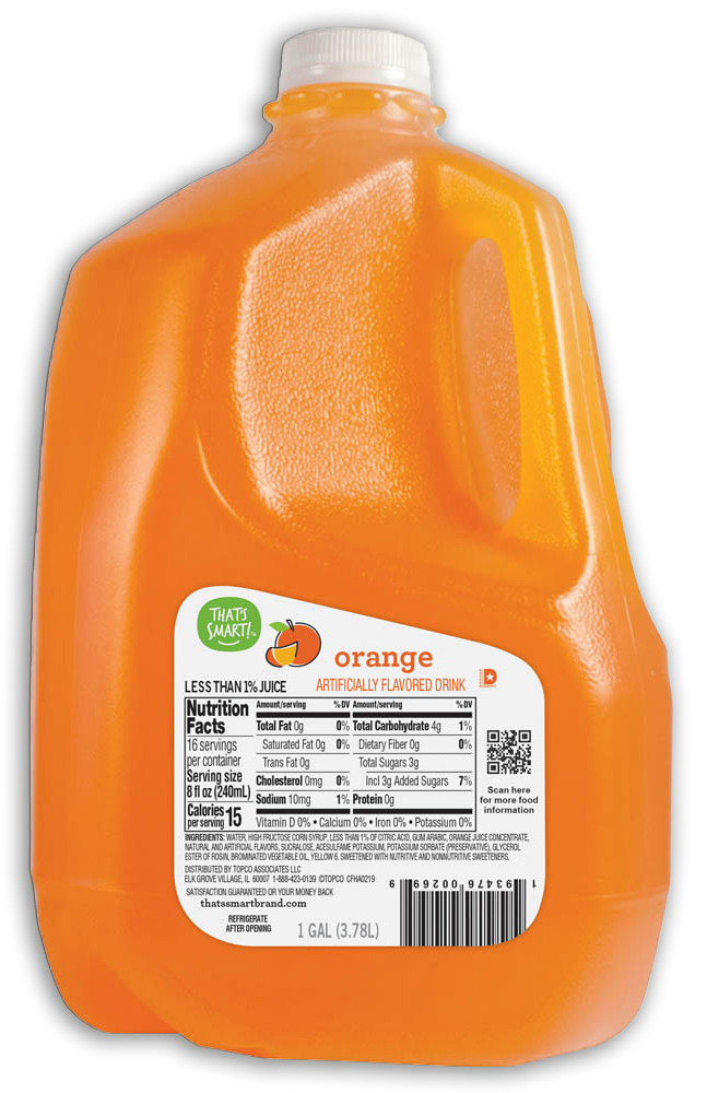 That's Smart! Orange Flavored Drink