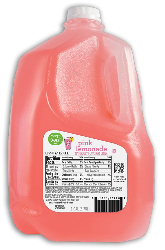 That's Smart! Pink Lemonade Flavored Drink