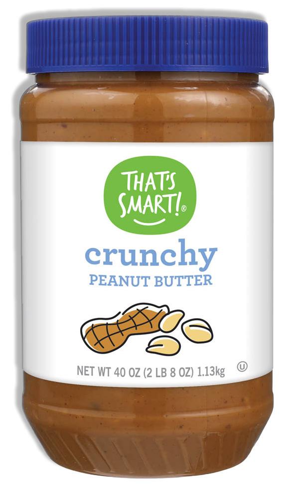 That's Smart! Crunchy Peanut Butter