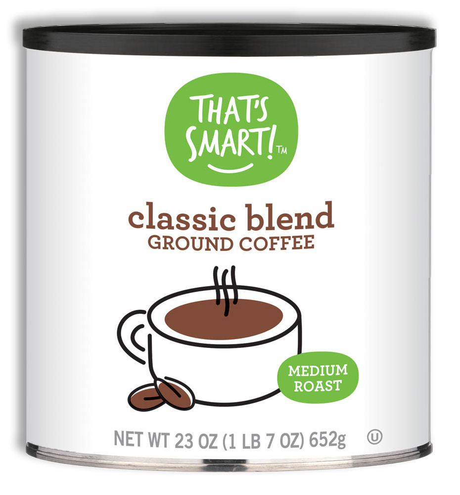 That's Smart! Classic Blend Light Roast Ground Coffee