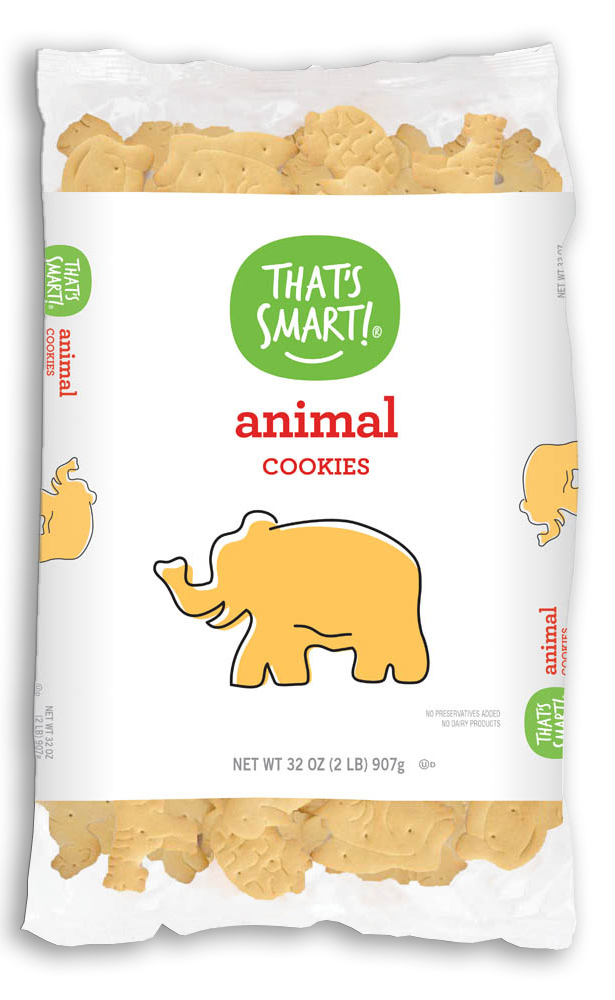 That's Smart! animal cookies