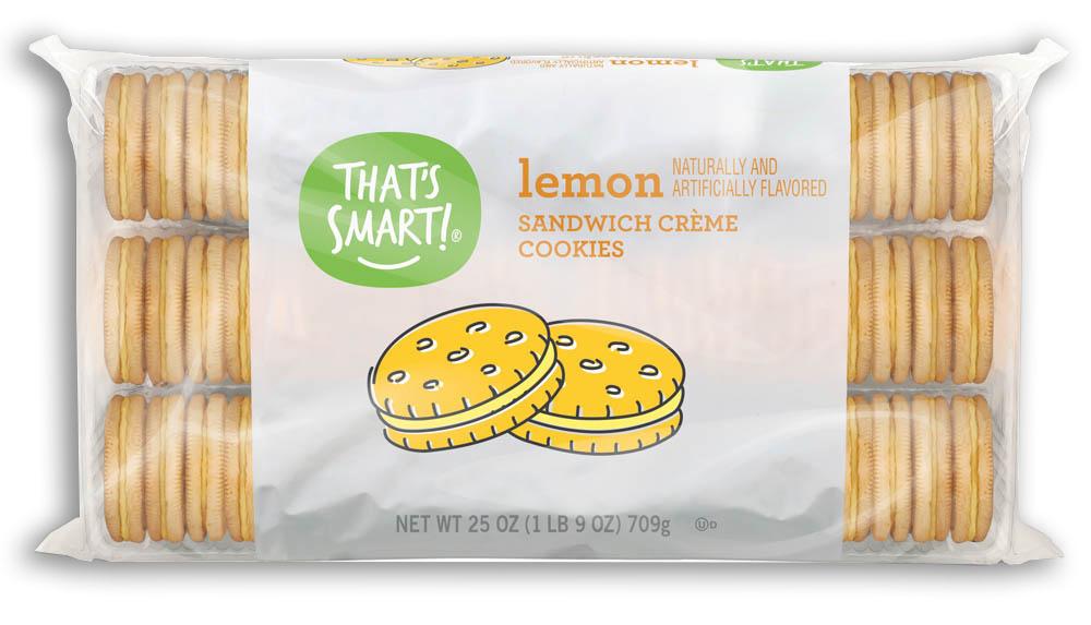 That's Smart! lemon sandwich creme cookies