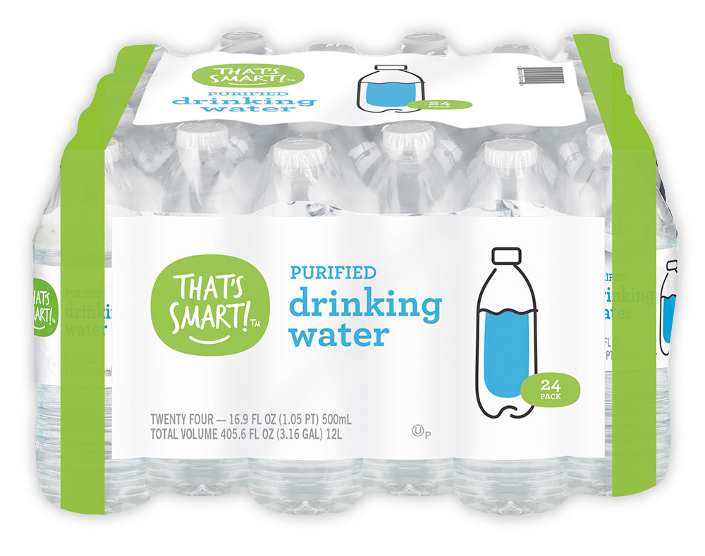 That's Smart! purified drinking water 24 pack