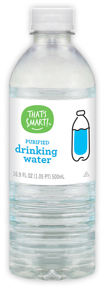 That's Smart! purified drinking water