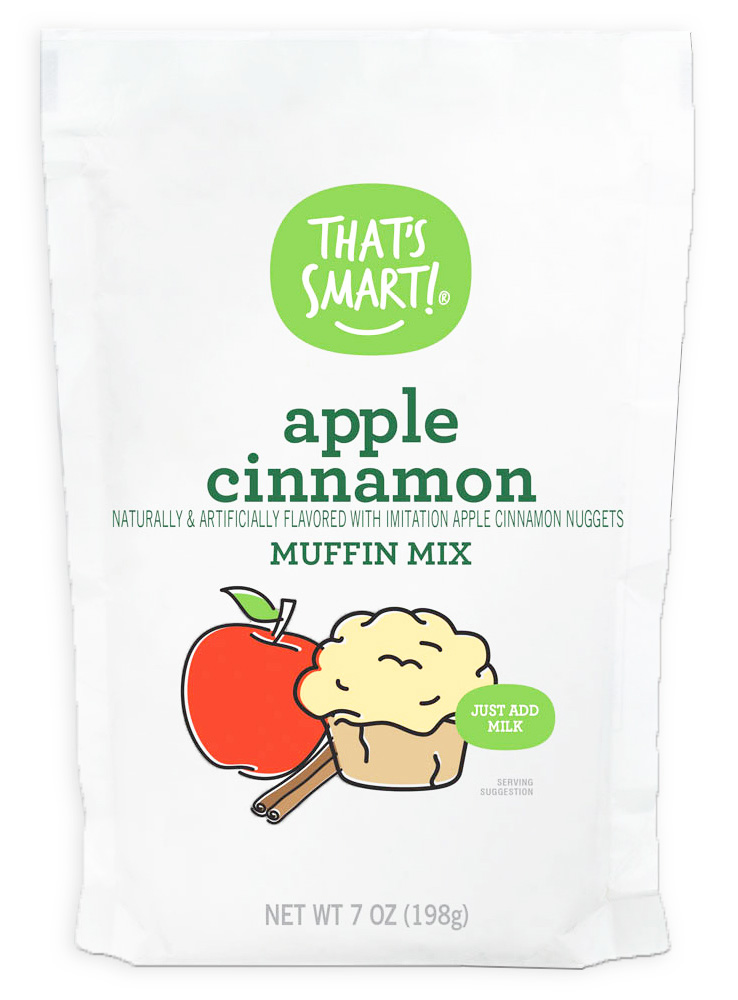 That's Smart Apple Cinnamon Muffin Mix
