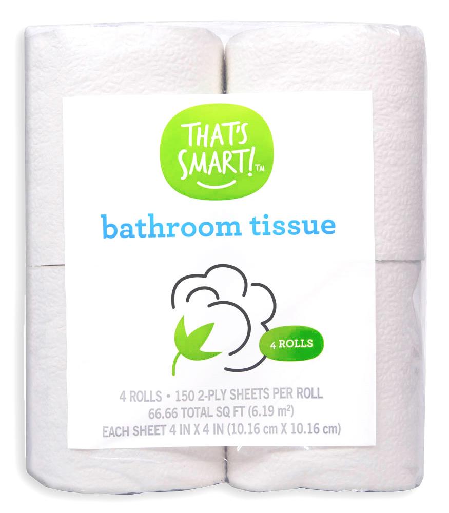 That's Smart Bathroom Tissue