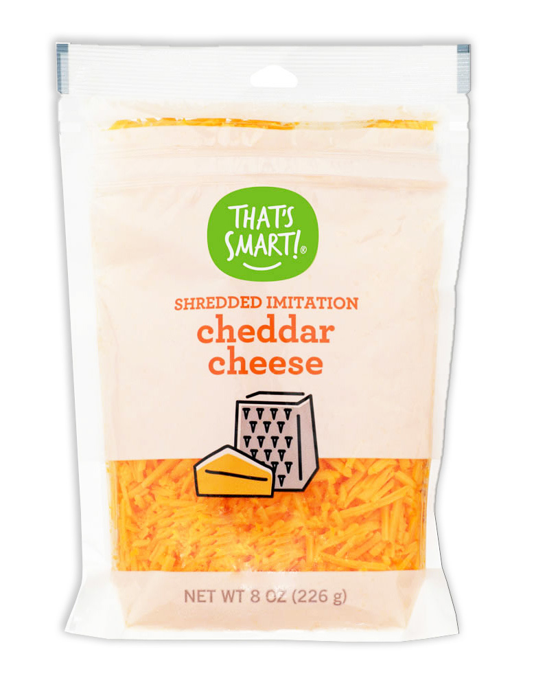 That's Smart Shredded Imitation Cheddar Cheese