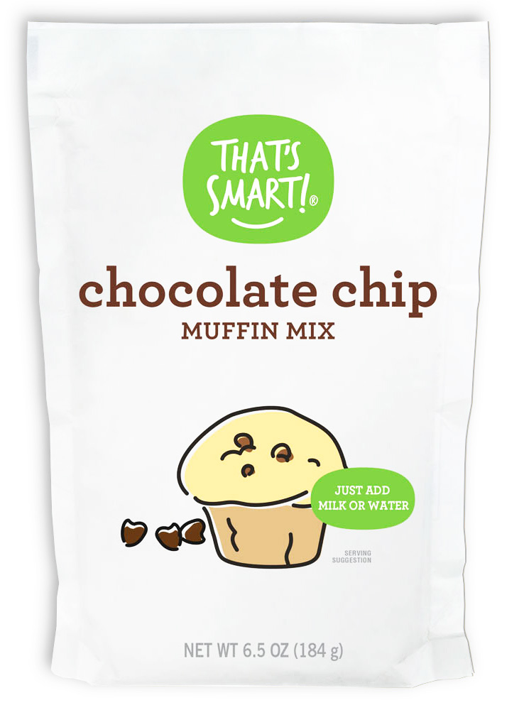 That's Smart Chocolate Chip Muffin Mix