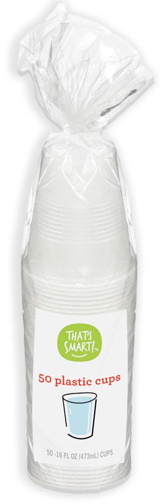 That's Smart Plastic Cups