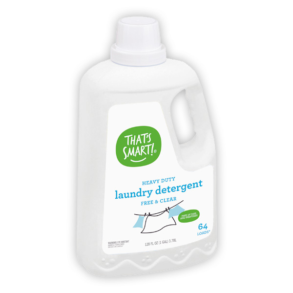 That's Smart! free and clear laundry detergent