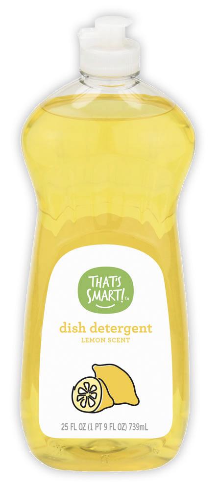 That's Smart! lemon scent dish detergent