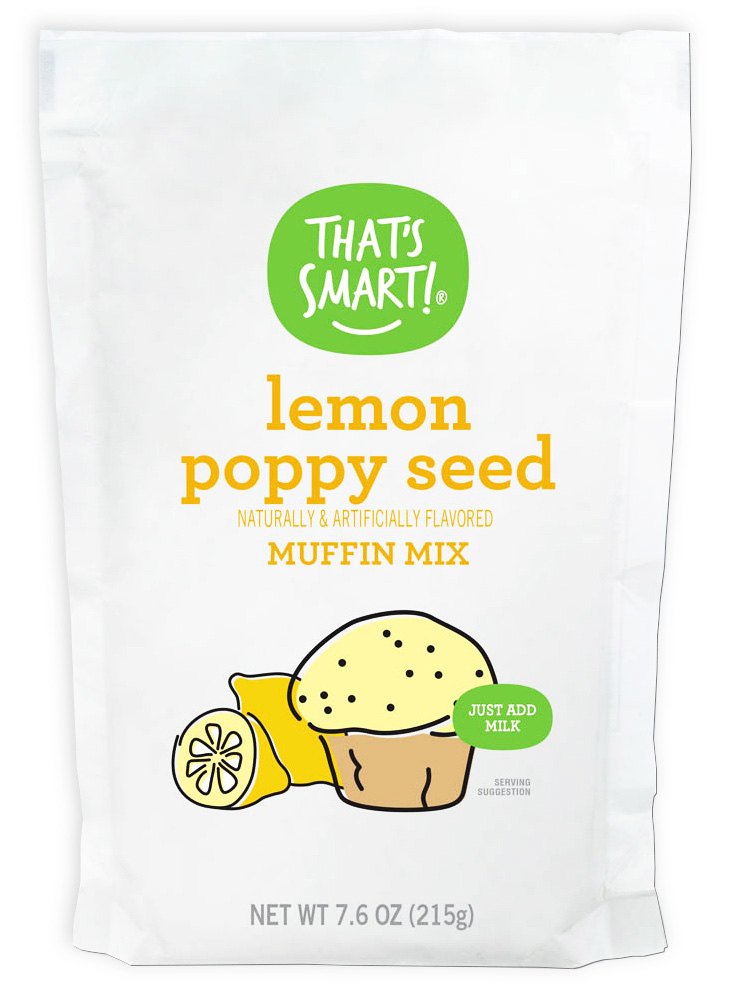 That's Smart Lemon Poppy Seed Muffin Mix