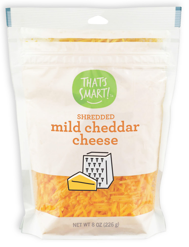 That's Smart Shredded Mild Cheddar Cheese
