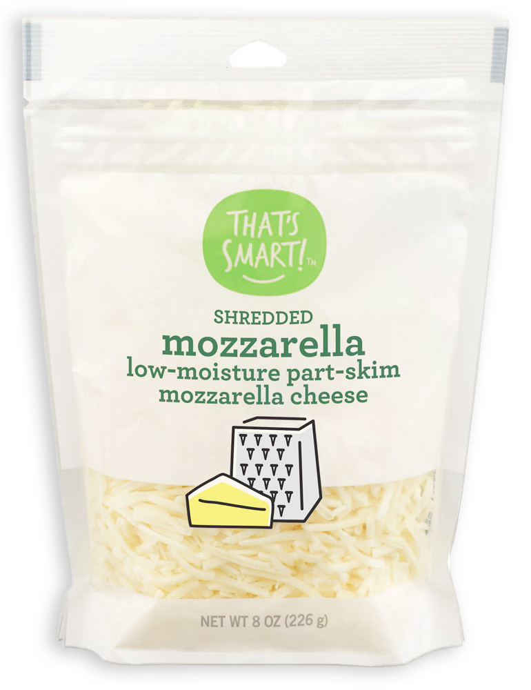 That's Smart Shredded Mozzarella Cheese