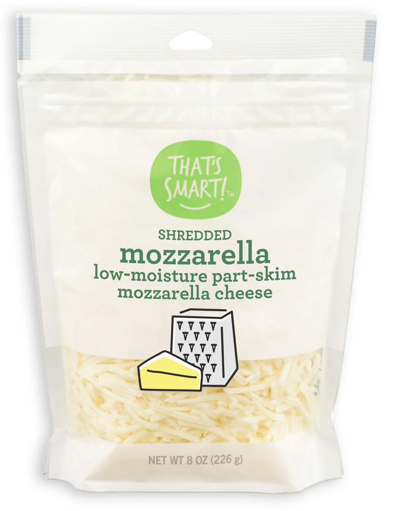 That's Smart Shredded Mozzarella Cheese